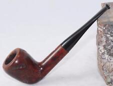 Estate Briar Smoking Pipe-Wooden Match-Billiard-Smooth/Carved-F/T-Refurbished
