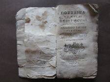 Jacopo Plenck Dottrina Morbi Occhi Oculistica Medicina 1798 Orlandelli Venezia