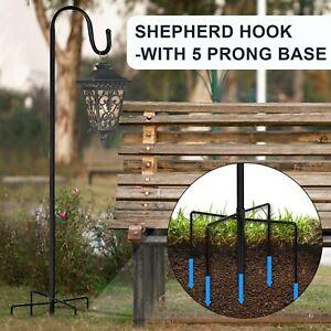 Shepherd Hooks For Bird Feeder Lantern Plant Hook Garden Stake Plant Stand Holer
