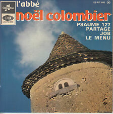 45TRS VINYL 7''/ FRENCH EP NOEL COLOMBIER / PSAUME 127 + 3