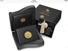 SOLID 999 24K GOLD 2016 Standing Liberty Quarter Centennial  1/4oz - NEW BULLION