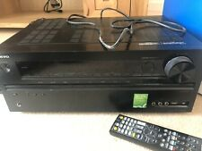 Onkyo TX-NR626 7.2 Multi-zone AV Home Cinema Receiver inc. Audyssey Mic etc.