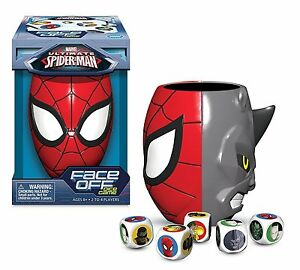 Marvel Ultimate Spider-Man Face Off Dice Game Spider-Man vs Rhino New