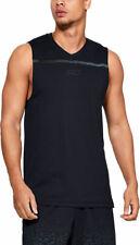Under Armour Ua Men's Sc30 Ultra Performance Basketball Tank Vest - Black - New
