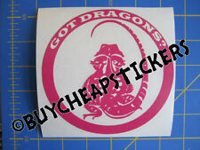 Bearded Dragon Got Dragons? Vinyl Decal - Sticker 5x5 - Any Color