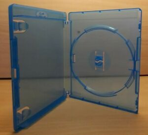 20 Single Amaray 14mm Blu Ray Case