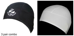 Zimco Cycling Super Roubaix Thermal Skull Cap Head Warmer Beanie Skull Cap Hat