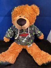 "Minnesota Wild Hockey 🏒 Plush Bear  NHL 13"" Stuffed Plush Bear W/ Wild Jersey"