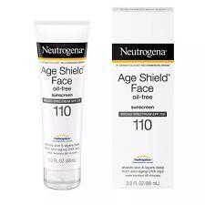 Neutrogena Age Shield Face Sunscreen, 3oz SPF 110