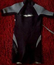 HD Sport Wetsuit Surfing Suit Junior Size 10 EUC Hand Wash Black