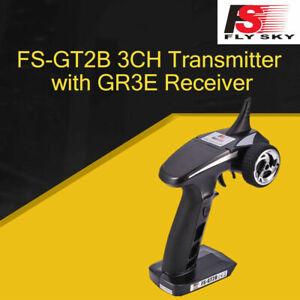 Radiocomando TrasmettitoreTelecomando Flysky FS-GT2B 2.4G 3CH con ricevitore