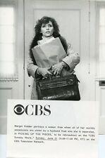MARGOT KIDDER PORTRAIT PICKING UP THE PIECES ORIGINAL 1987 CBS TV PHOTO
