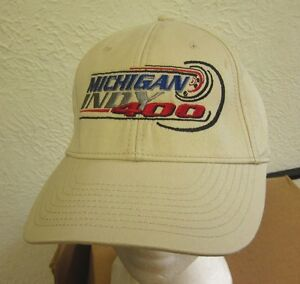 MICHIGAN INDY 400 baseball cap Firestone IndyCar Series hat 2004 embroidery