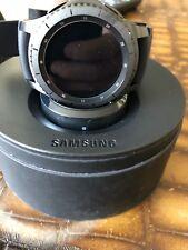 SAMSUNG SM-R760NDAAXAR Gear S3 Frontier Smart Watch Black 22mm band