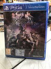 Dissidia Final Fantasy NT Ita PS4 NUOVO SIGILLATO