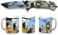 Set Navaja ALBAINOX Brigada Paracaidista y Cartera Diseño 3D BRIPAC