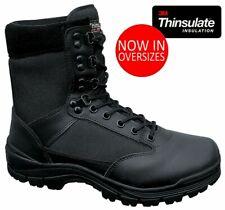 Brandit Winter Boots Doorman Tactical 9-eye Arbeitsstiefen Black Security