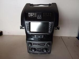 HOLDEN COMMODORE STEREO/HEAD UNIT SINGLE RADIO/CD PLAYER, EQUIPE/OMEGA, VE S2, 0