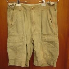 BD LIGHT KHAKI men's cargo shorts size 30 rugged throwback trail plain