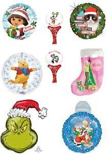 TV & Film Xmas Christmas Balloons Party Ware Decoration Novelty Gift Helium