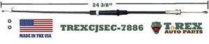 1978-1986 Jeep CJ Air Vent Secondary Control Cable