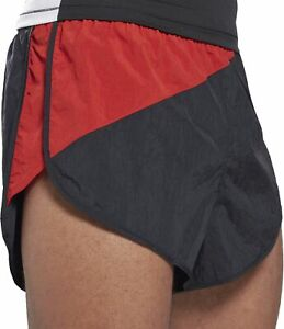 Reebok Heritage Split Mens Running Shorts - Black