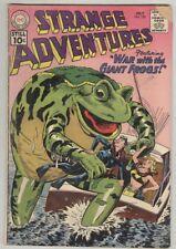 Strange Adventures #130 G/VG July 1961 Giant Frog cover
