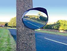 30cm Convexo Punto Ciego Espejo Exterior Garaje Entrada Seguridad Autocaravana RV