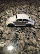 Vtg Dinky Toys 181 VolksWagen VW Beetle Saloon blue made in England 1/43 scale