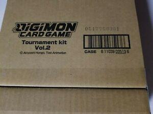 New Sealed Digimon Card Game TCG Tournament Kit Vol. 2