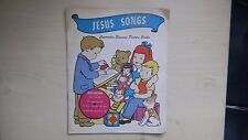 """Concordia Singing Picture Book JESUS SONGS/Christmas Songs 6 3/4"""" 78rpm 50s"""