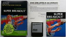 Atari XE/XL400/800 - Super Breakout (region free) RX8006 VERY GOOD CONDITION
