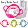 Baby Kinder WC Sitz Toilettenaufsatz Toilettentrainer Töpfchen Brille gepolstert