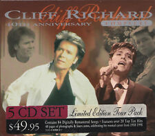 PRICE DROP! [LIKE NEW] 5CD: CLIFF RICHARD: 40TH ANNIVERSARY COMPLETE