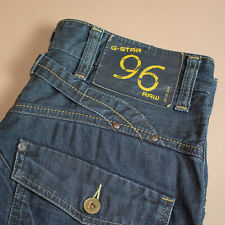 Vintage GStar Elwood Heritage Jeans Straight Blue Men's (LabelW32L34) W 31 L 33