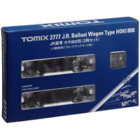 Tomix 2777 JR Ballast Wagon Type HOKI 800 2 Cars Set - N