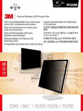 """3M COMPUTER PRIVACY framed FILTER 20"""" to 20.1"""" for LCD Monitor NEW"""