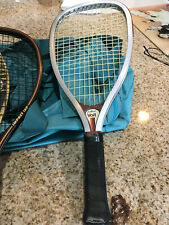 3 racquetball racquets, 4 racquetballs & Duffel bag - Great for beginners