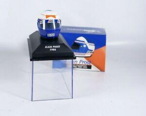 MINICHAMPS 517 380601 Helmet Prost World Champion 1986 1/8 New IN Box