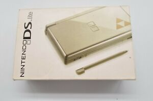 Legend Of Zelda Gold DS Lite Triforce Edition - Original - Boxed