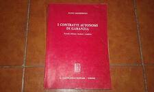 MASTROPAOLO I CONTRATTI AUTONOMI DI GARANZIA II ED. GIAPPICHELLI 1995