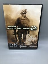 Call of Duty: Modern Warfare 2 PC Game 2009 Activision Complete 2 Discs