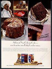 1967 New Orleans Vieux Carre restaurant photo Betty Crocker cake mix print ad