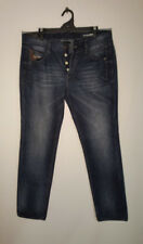 CHEVIGNON French Jeans Button Fly Stylish Pockets Excellent Men's Size 36/34