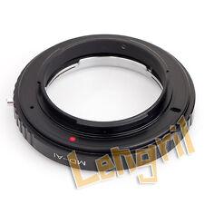 Macro Minolta MD MC Lens to Nikon F Mount Adapter Ring No Glass For D3100 D5300