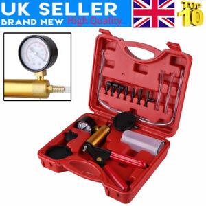 Self Bleed Hand Vacuum Pressure Pump Tester Brake Fluid Bleeder Bleeding Kit+Box