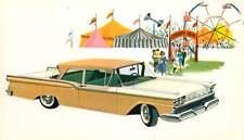 Advertising Postcard 1959 Ford Custom 300 Tudor Sedan