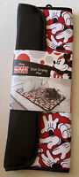 NEW Disney Mickey Mouse Dish Drying Mat 16x18 Black Red Gloves