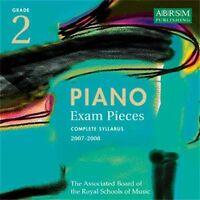 PIANO EXAM PIECES: GRADE 2 COMPLETE SYLLABUS 2007-2008 - CD (2006) ABRSM