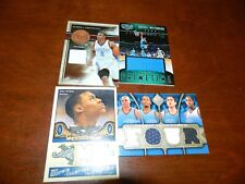 RUSSELL WESTBROOK GAME USED LOT (4) GALA /60,ABSOLUTE /100,SP GAME USED /125, UD